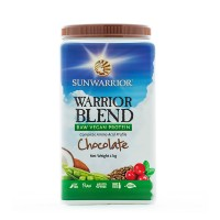 Sunwarrior Blend Chocolate - RAW Protein (1 Kg)