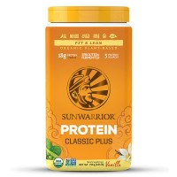Sunwarrior Classic Plus Vanilla - RAW Protein (750 g)